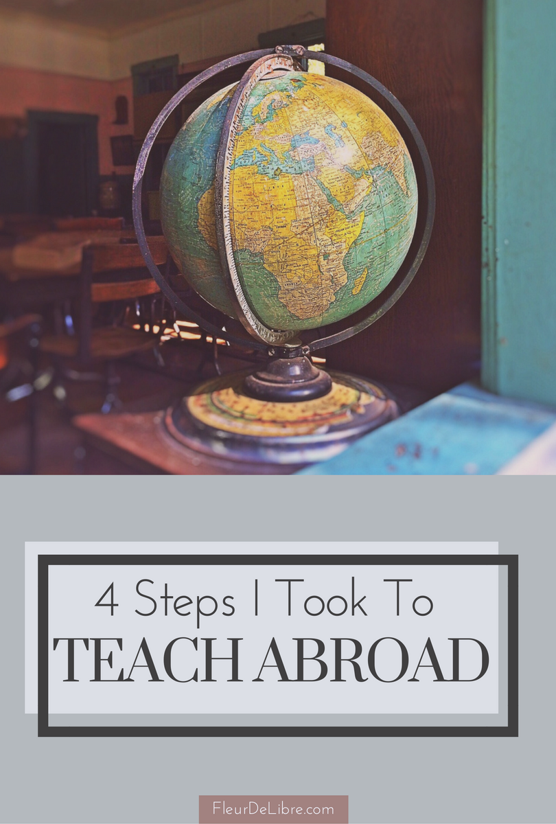 4 Steps I Took To Teach in South Korea. Read my journey and learn from my trials and triumphs! | FleurDeLibre.com